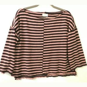 Lou & Grey top Boxy loose fit Cotton Striped